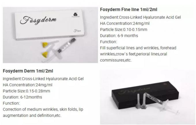 Cross Linked hyaluronic acid Dermal Fiiller With 0.3% Lidocaine Facial Wrinkle