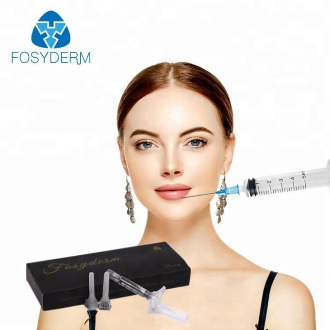 Korea Injectable 2ml Cross Linked Dermal Filler , Painless HA Hyaluronic Acid Fillers