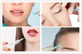 Face Shaping Cross Linked Injectable Dermal Filler 2ml Injection Natural Looking