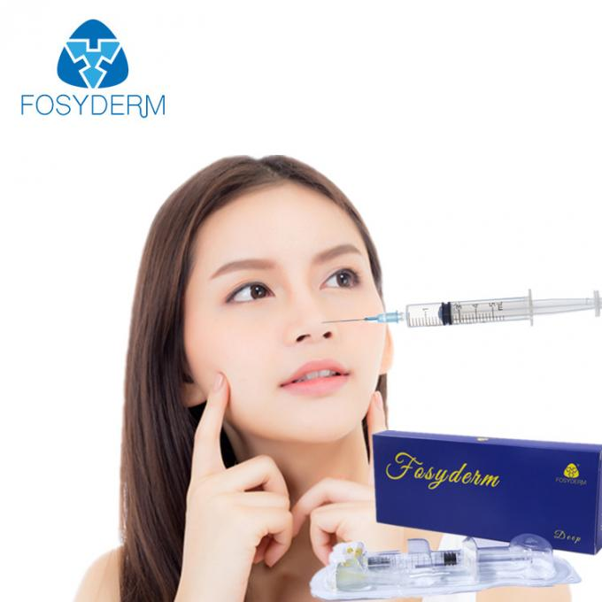 Facial Care Injectable Dermal Filler 1ml , Hyaluronic Acid Filler Injections