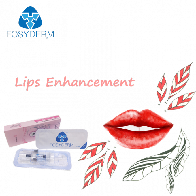 Fosyderm 2ml Lip Enhancement Injectable Dermal Fillers Hyaluronic Acid Gel Injection