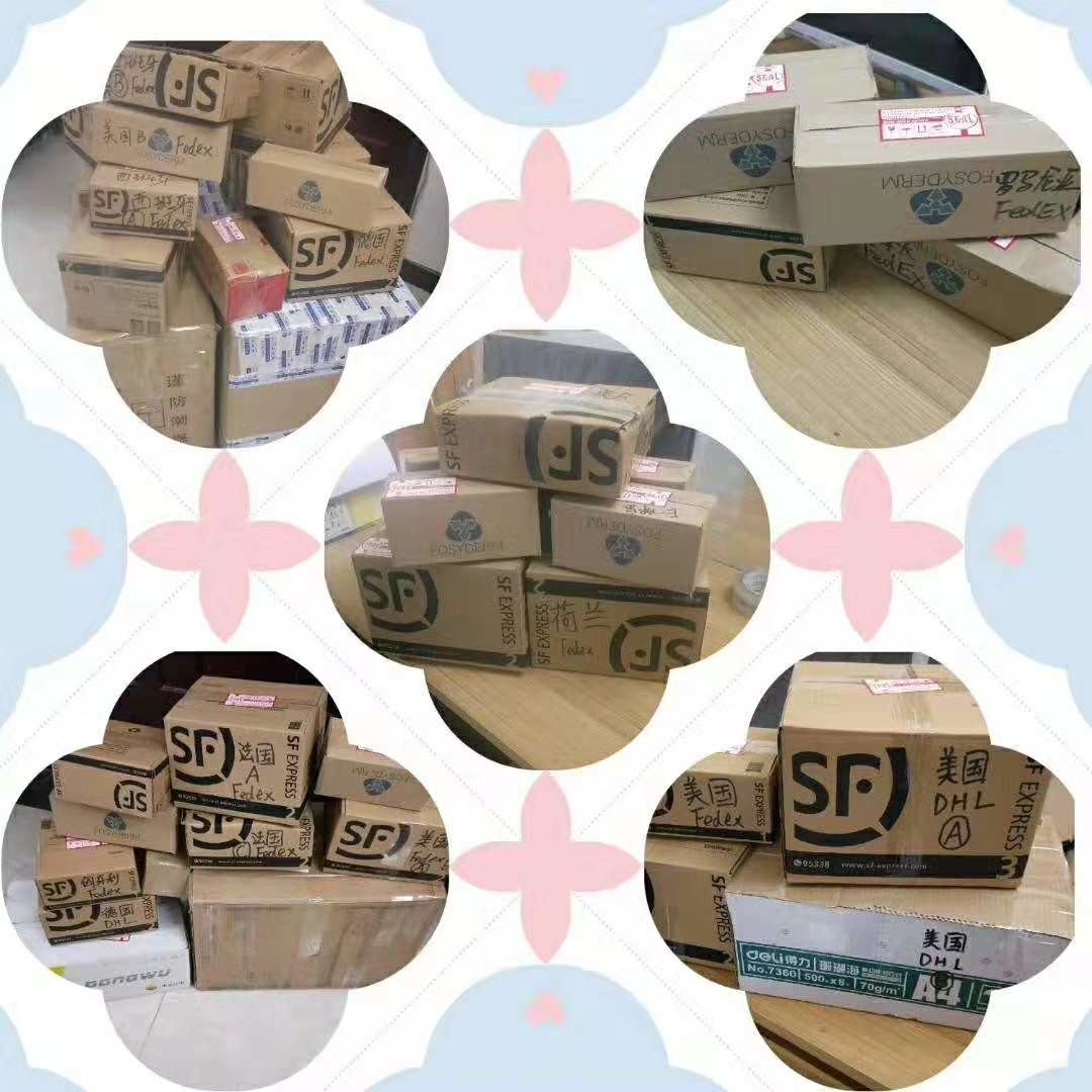 china latest news about Everyda we shipped fosyderm fillers to different country