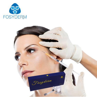Cross Linked hyaluronic acid Dermal Fiiller With 0.3% Lidocaine Facial Wrinkle supplier