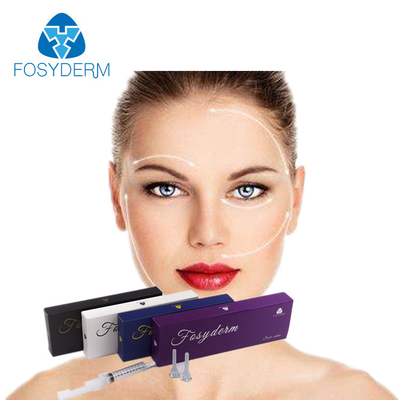Face Treatment Dermal Filler Hyaluronic Acid Gel Injection With CE Certificate 2ml supplier