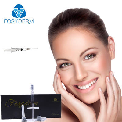 Face Shaping Cross Linked Injectable Dermal Filler 2ml Injection Natural Looking supplier