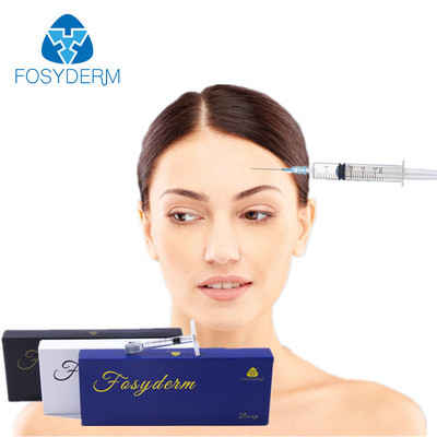 HA Injectable 1ml Cross Linked Dermal Filler For Nose / Lip / Chin / Cheek supplier