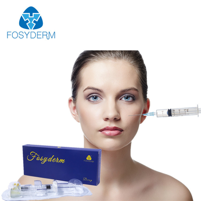 Safety Hyaluronic Acid Dermal Filler Injections 2ml For Cheek Lifting / Plumping supplier
