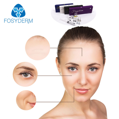 Safety 2ml Hyaluronic Acid Dermal Fillers For Wrinkles Anti Aging CE Certificate supplier