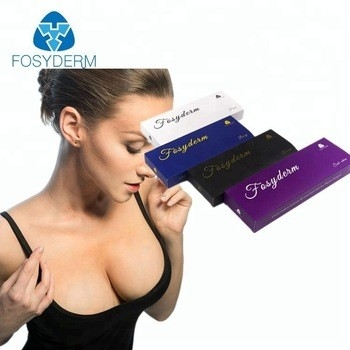 Cross Linked Hyaluronic Acid Dermal Filler Breast Enhancement Injection 10ml supplier