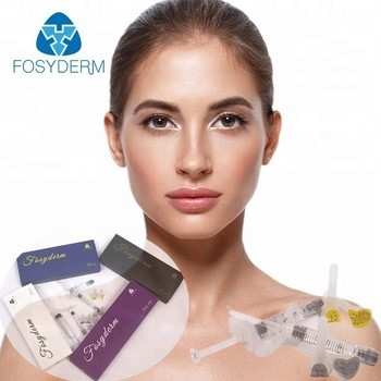 Plastic Surgery Hyaluronic Acid Dermal Filler With Lidocaine 2ml Syringe For Face supplier