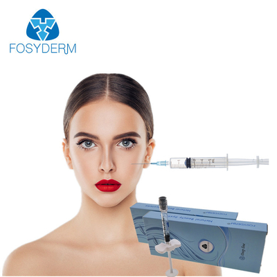 Fosyderm Face Use 1ml Injectable Dermal Fillers Hyaluronic Acid Anti Wrinkles Syringe supplier