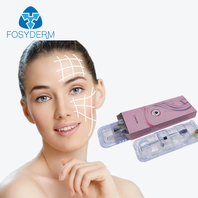 1ml Fosyderm Face Medical Sodium Hyaluronate Gel / Skin Injectable Dermal Filler supplier