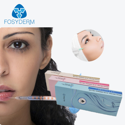 Hyaluronic Acid Dermal Fosyderm Filler Facial Contour CE ISO Certification