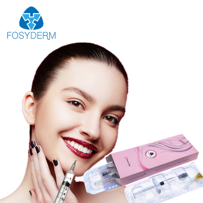 Fosyderm 2ml Derm Lip Dermal Filler Hyaluronic Acid Injection For 8-12 Months