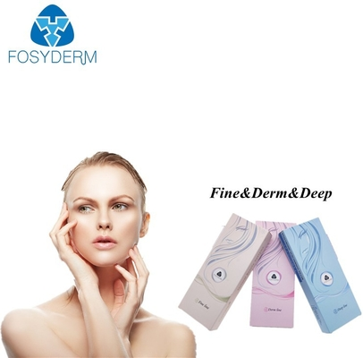 Fosyderm 1ml Cross Linked Hyaluronic Acid Injectable Filler CE ISO Approved