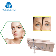 Fosyderm Cross Linked HA Filler 2ml Fine Line Hyaluronic Acid For Eye Wrinkles