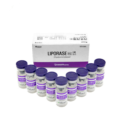 10 Vial / Box Liporase Dissolves Hyaluronic Acid Injection Lyase