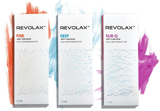 Liquid Hyaluronic Acid Dermal Filler Facial Plastic Revolax