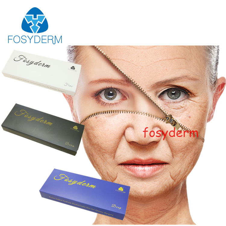 Face Treatment Dermal Filler Hyaluronic Acid Gel Injection With CE Certificate 2ml