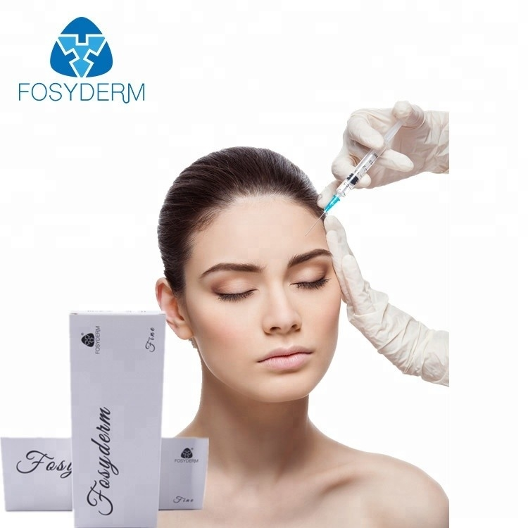 China 1ml / 2ml Fine Line Hyaluronic acid Dermal Filler For Crows Feet Safety Effective factory