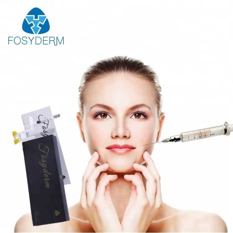 Safety 1ml HA Injectable Fillers For The Face , Hyaluronic Acid Dermal Fillers supplier