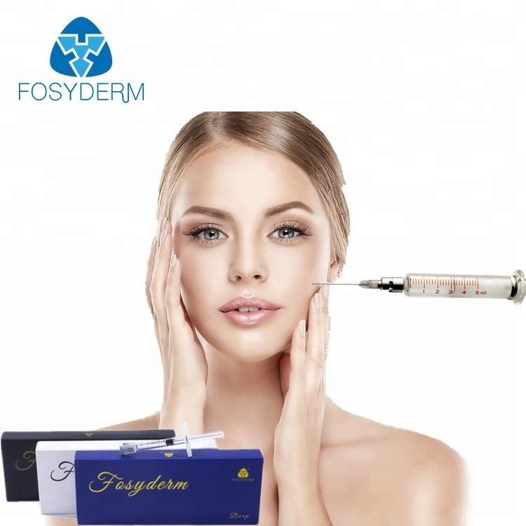 China 1ml Hyaluronic Acid Wrinkle Filler Injections , Cross Linked Dermal Filler factory