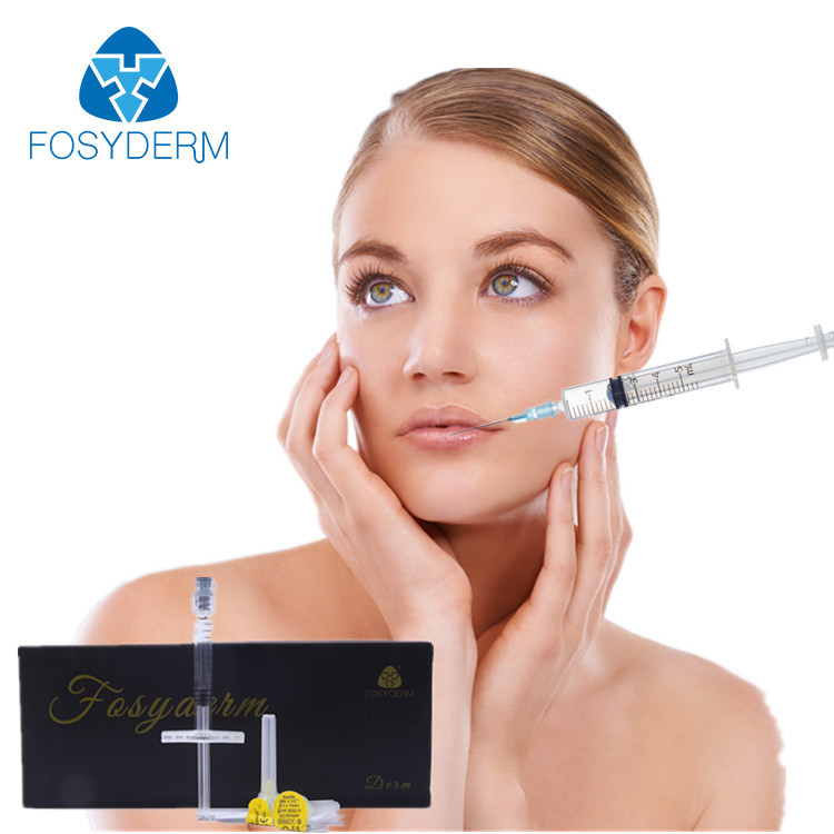 China Non Surgical 2ml Hyaluronic Acid Dermal Filler , Skin Care Face Filler Injections factory