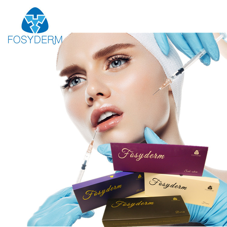 Hyaluronic Acid Dermal Filler with Lidocaine for Frown Lines Long Lasting