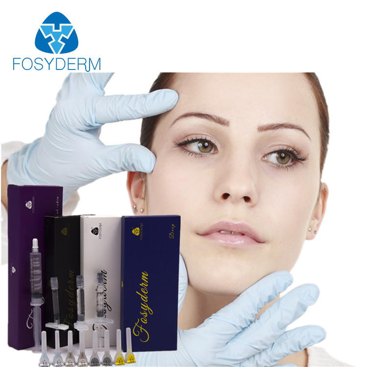 China Long Lasting Hyaluronic Acid Facial Filler , Hyaluronic Acid Injection Face Gel factory