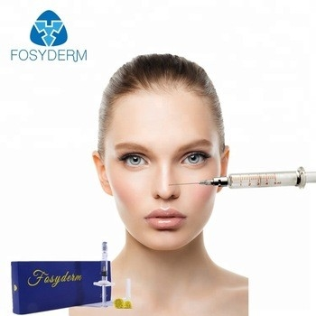 2ml Fine Hyaluronic Acid Dermal Filler , Injectable Fillers For The Face