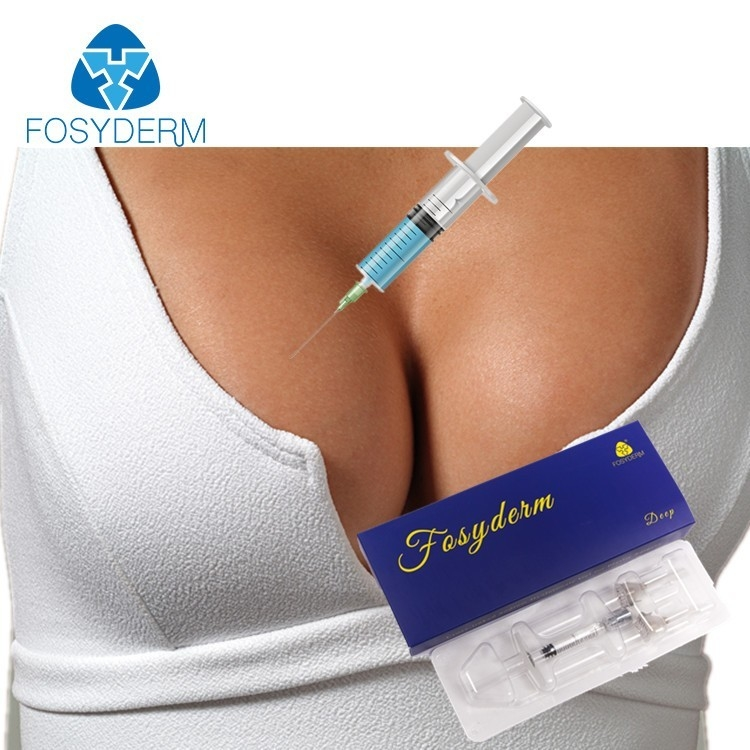 China 10ml Cross Linked Hyaluronic Acid Injectable Breast Fillers CE Certificate factory