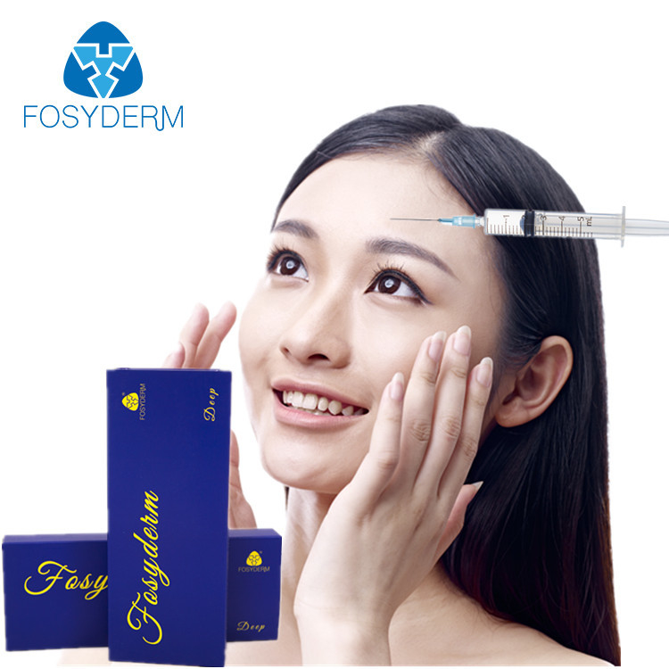 China HA Cross Linked Dermal Filler Lidocaine For Frown Line Removing Long Lasting factory