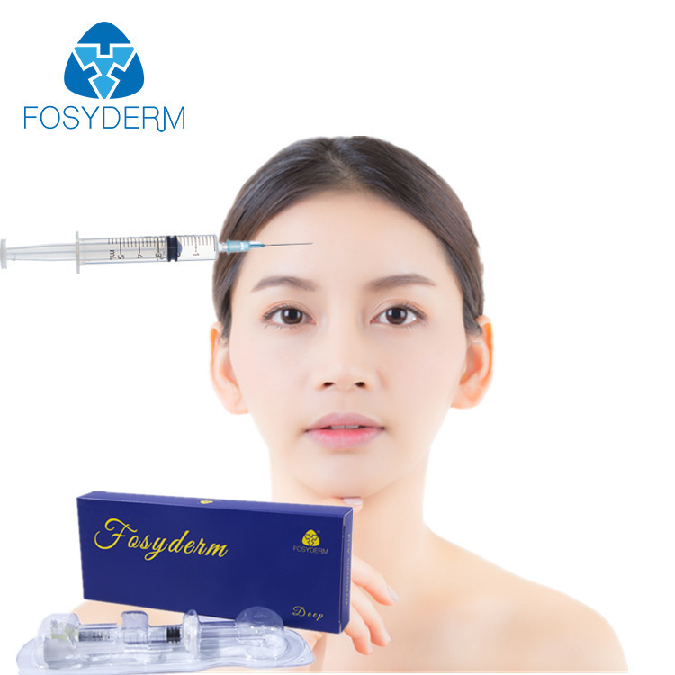 Korea Injectable 2ml Cross Linked Dermal Filler , Painless HA Hyaluronic Acid Fillers supplier