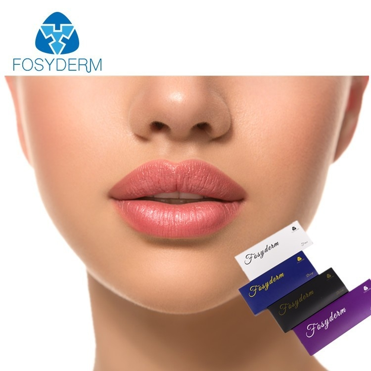 Derm Cross Linked Hyaluronic Acid Injectable Lip Fillers 1ml 2ml CE ISO Certificate