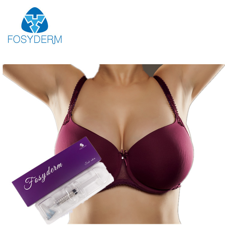 China Hyaluronic Acid Breast Augmentation Injection Filler , Breast Enlargement Fillers factory