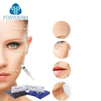 Cross Linked HA Injection Hyaluronic Acid Facial Filler For Anti Wrinkle 1ml