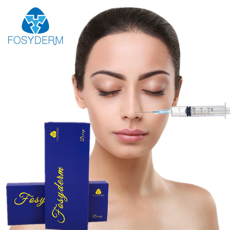Cross Linked Hyaluronic Acid Gel Filler Lidocaine For Removing Facial Wrinkle 1ml