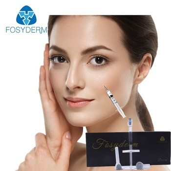 China Cross Linked Hyaluronic Acid Gel Injection 1ml For Cheek CE ISO Certificate factory