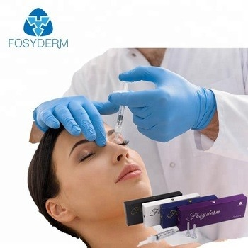 China 1ml 2ml Face Sodium Hyaluronate Injection Gel , Injectable Nose Ha Dermal Filler factory