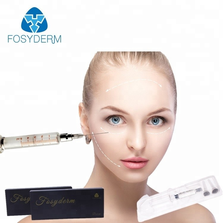 China Beauty Products 1ml Sodium Hyaluronate Gel Injection Dermal Filler For Skin Care factory