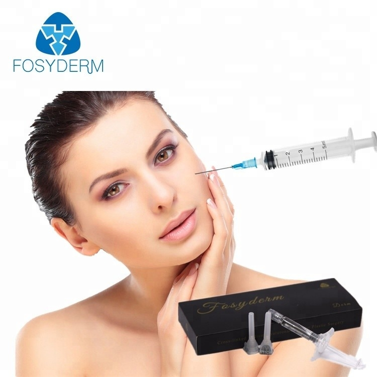 Sodium Hyaluronate Gel Injection Dermal Filler For Smoothing Forehead Lines