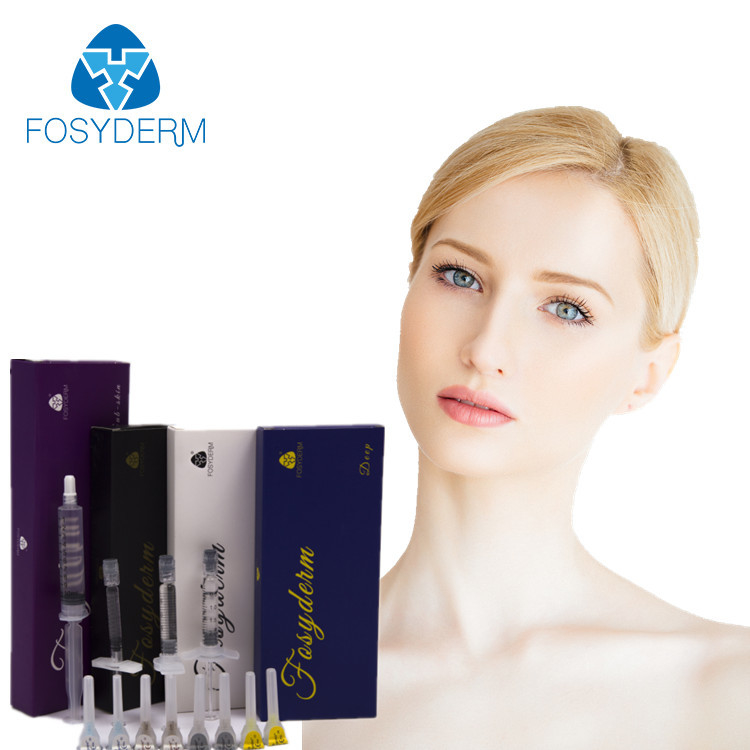 China HA Injectable Dermal Facial Filler , Hyaluronic Acid injection Filler with Lidocaine factory