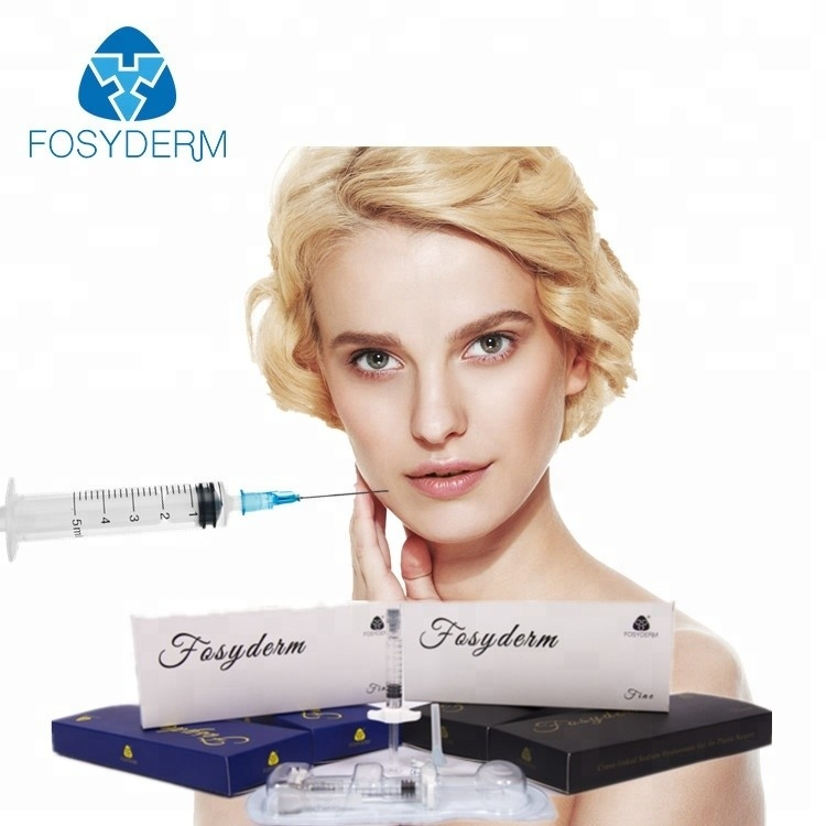 China Eco Friendly Dermal Filler Medical Sodium Hyaluronate Gel For Removing Neck Lines factory