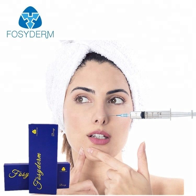 China 2ml Cross Linked Dermal Filler / Hyaluronic Acid Gel Injection For Nose Lift factory