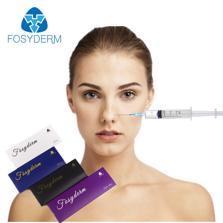 Injectable Medical Sodium Hyaluronate Gel , HA Dermal Filler For Anti - Aging