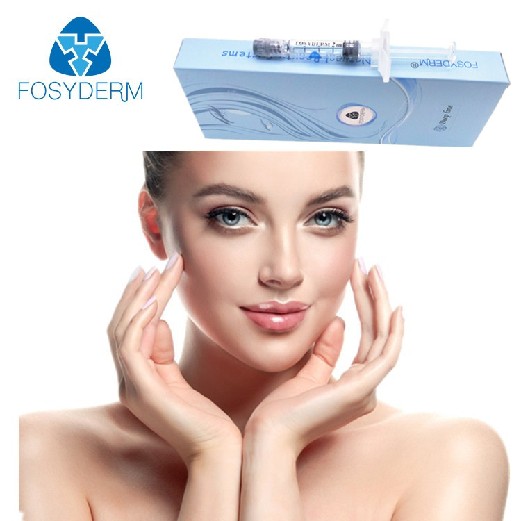 Fosyderm 2ml Filler Injectable Dermal Filler Hyaluronic Acid Deep Clear
