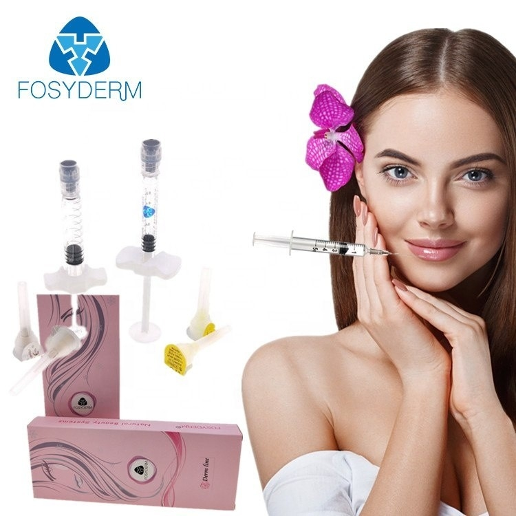 Hyaluronic Acid Injectable Dermal Filler , 2ml Lip Enhancement Filler Injections supplier