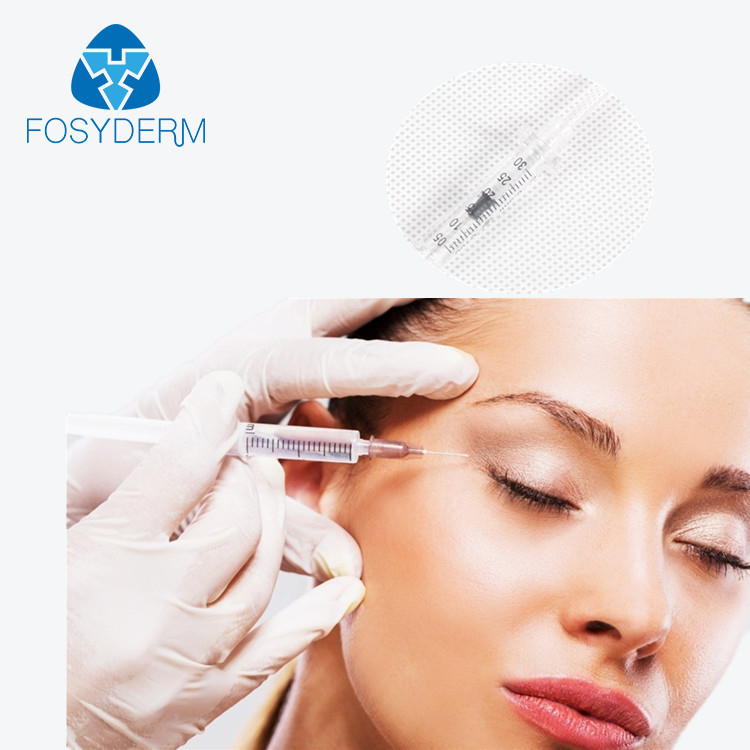 1ml Hyaluronic Acid Dermal Filler Derm 2ml Fosyderm Facial Contour For Lips