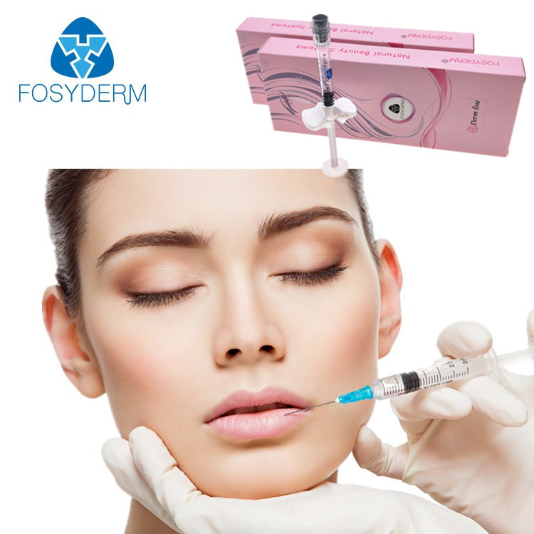 2ml Acido Hialuronico Dermal Lip Fillers Gel For Lip Enhancer , CE / ISO