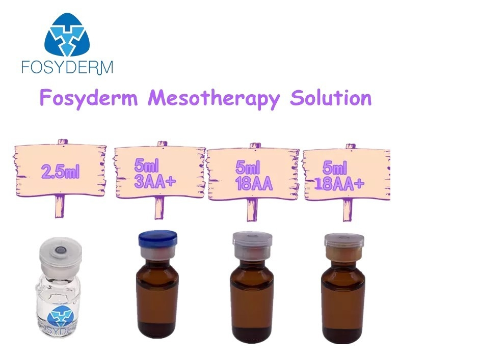China Fosyderm 5ml Anti-wrinkle and Whitening HA Serum  Mesotherapy Solution factory